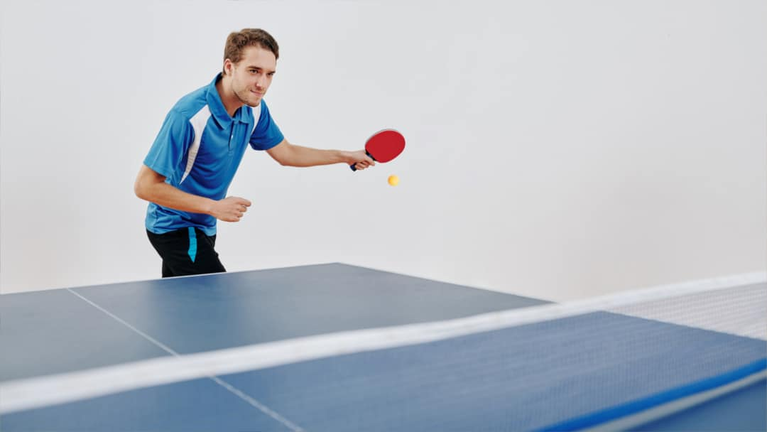 Rosters Sports Club Bar & Grill - Vernon BC - Racquetball Squash Courts - Sports Club Banner - Table Tennis 1